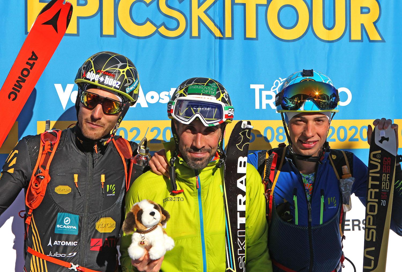podio maschile Epic Ski Tour