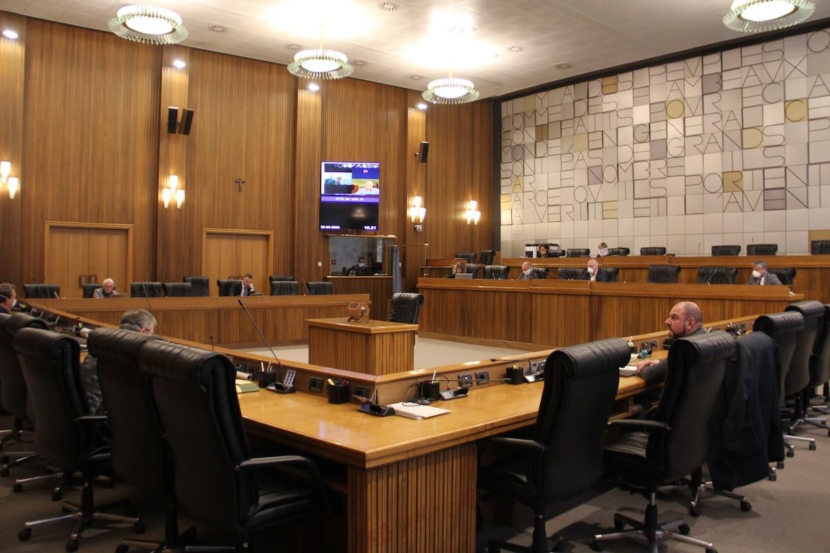 Il Consiglio regionale del marzo