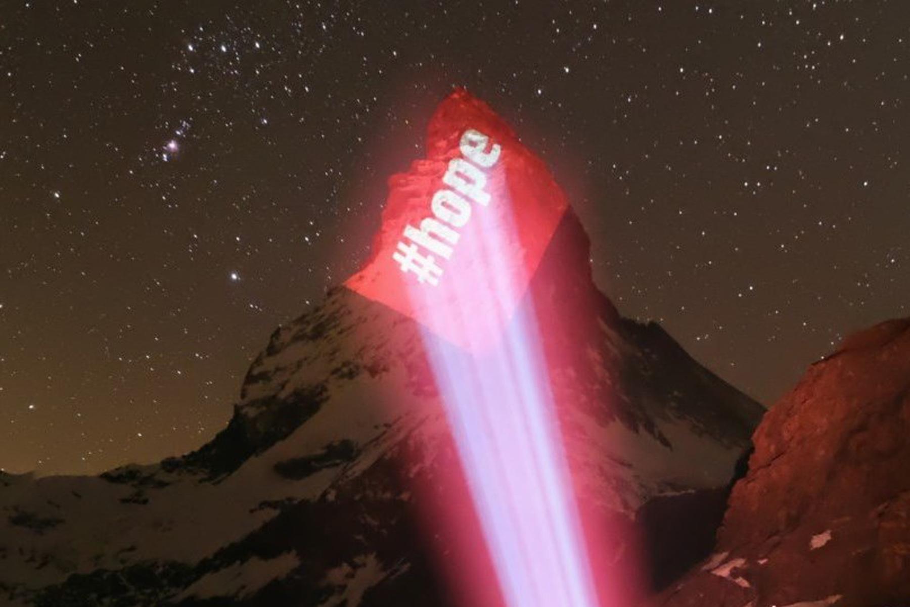 Matterhornbeleuchtung