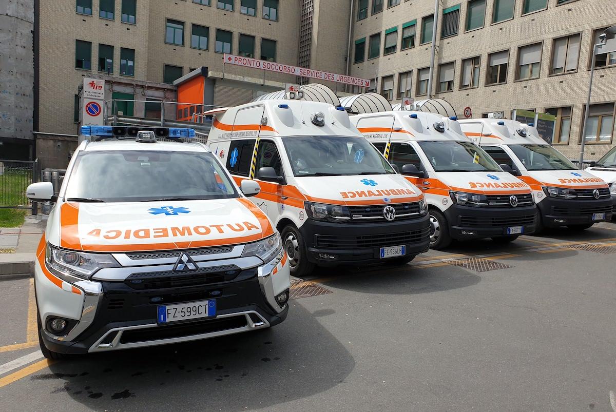 Ambulanze - ambulanza - Automedica - usl - ospedale