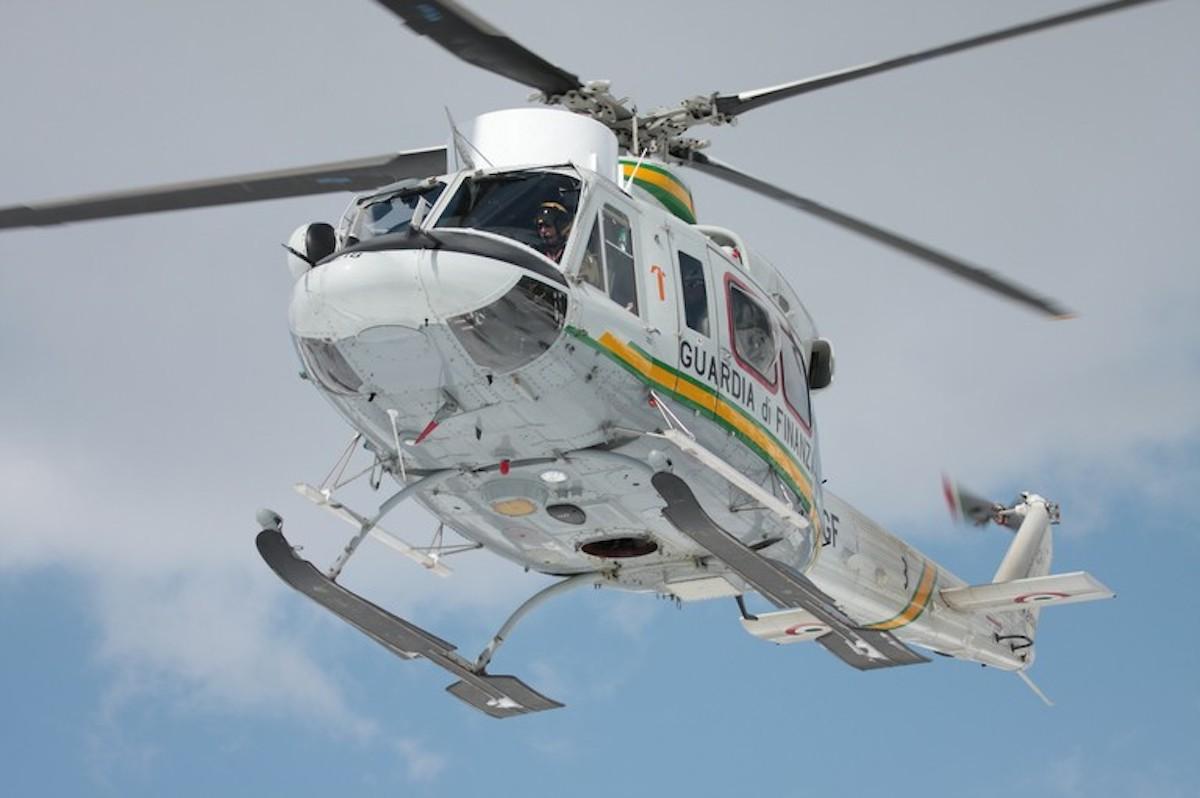 Elicottero Guardia di Finanza Sagf