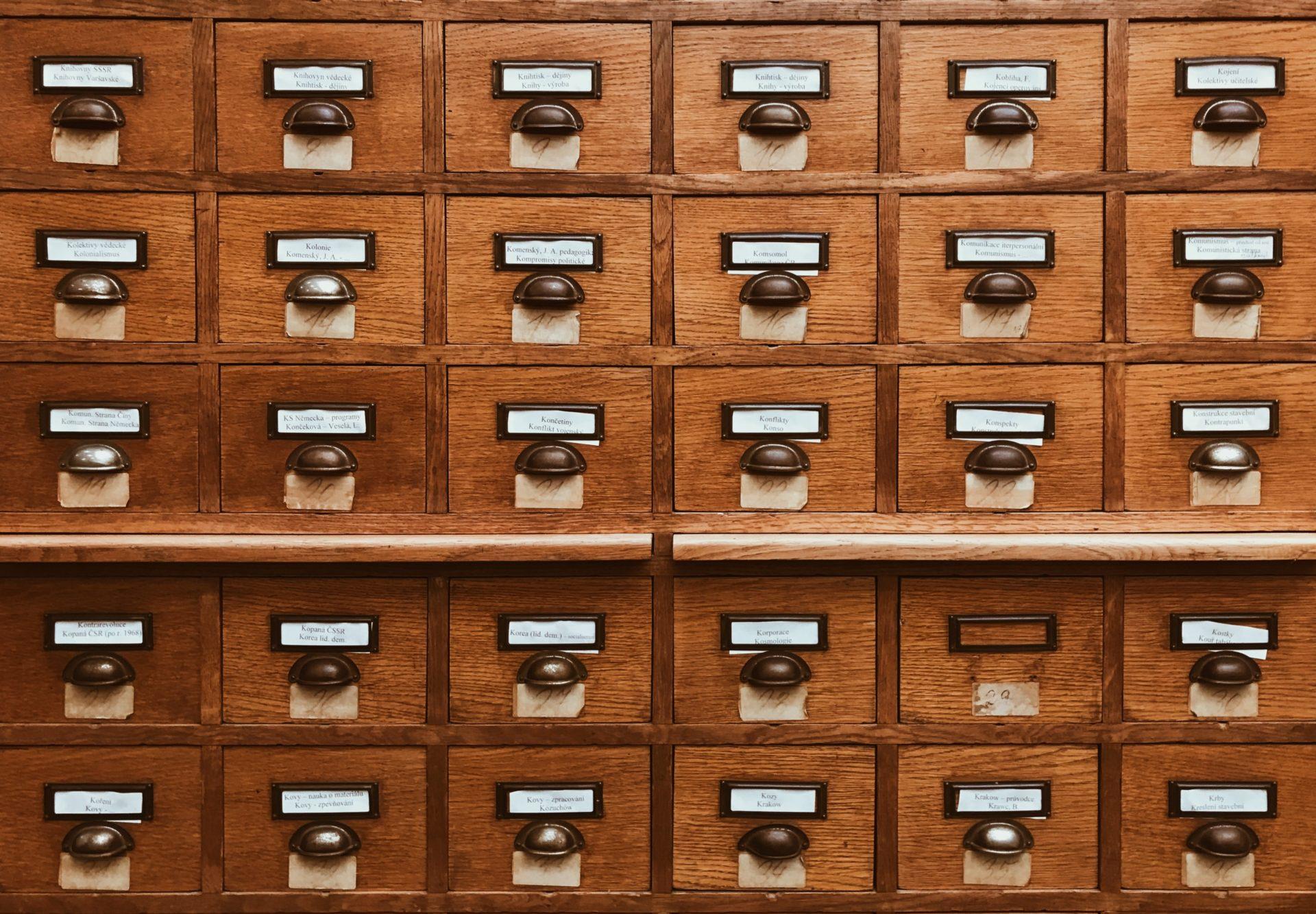 Archivio di dati