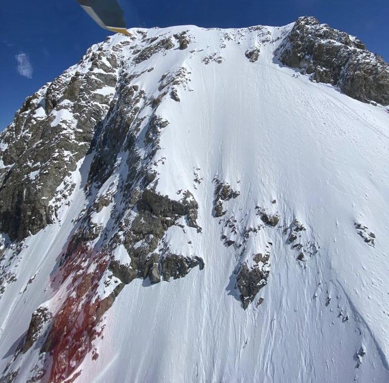 Incidente mortale sul Mont Dolent