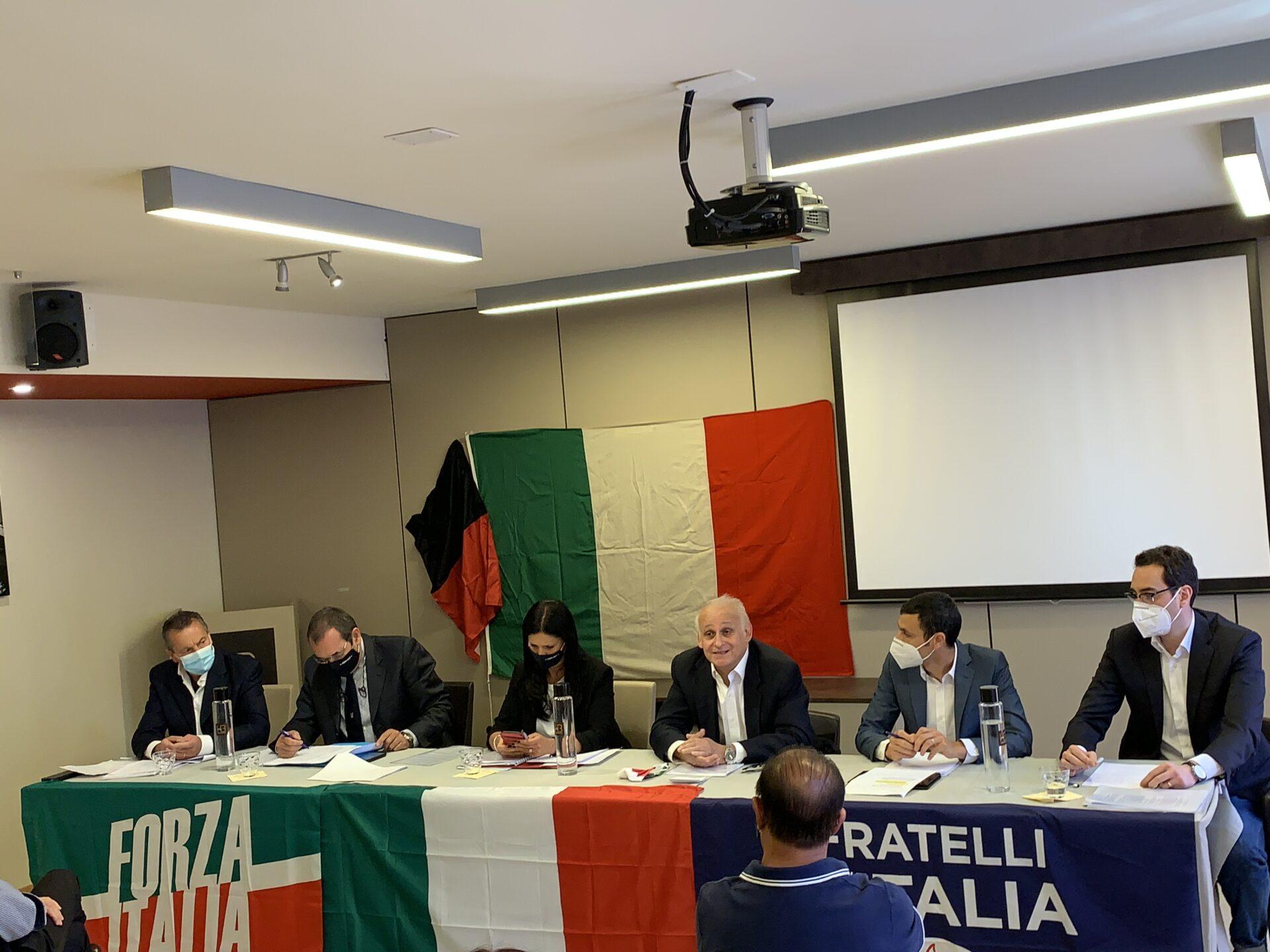 Zucchi, Rini, front Valdotain, Forza italia