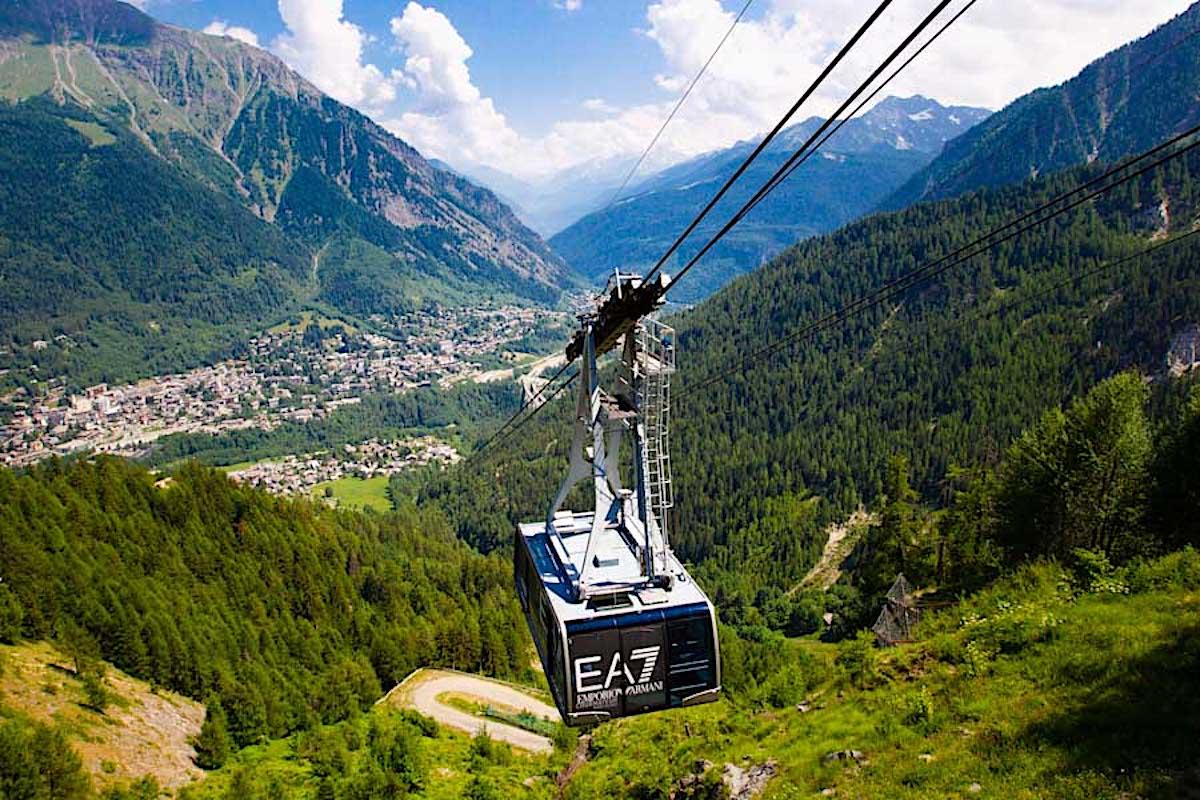 Courmayeur Mont Blanc Funivie