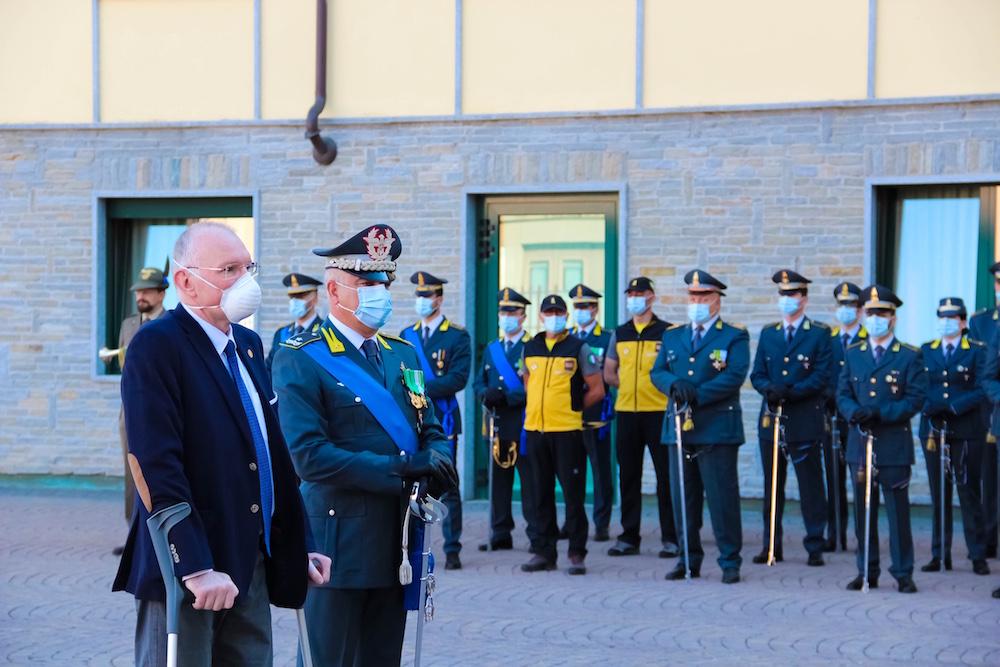 La celebrazione dell'anniversario ad Aosta