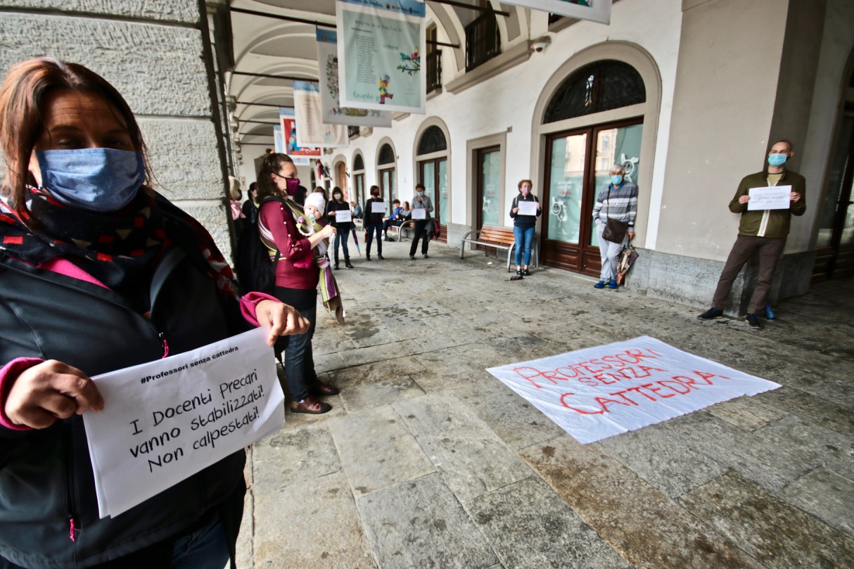 Manifestazione dei Professori senza cattedra