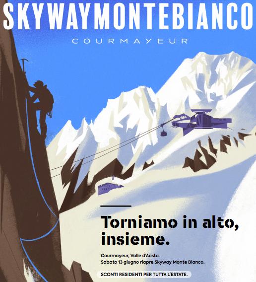 L'opera creata dall'illustratore e pittore Riccardo Guasco