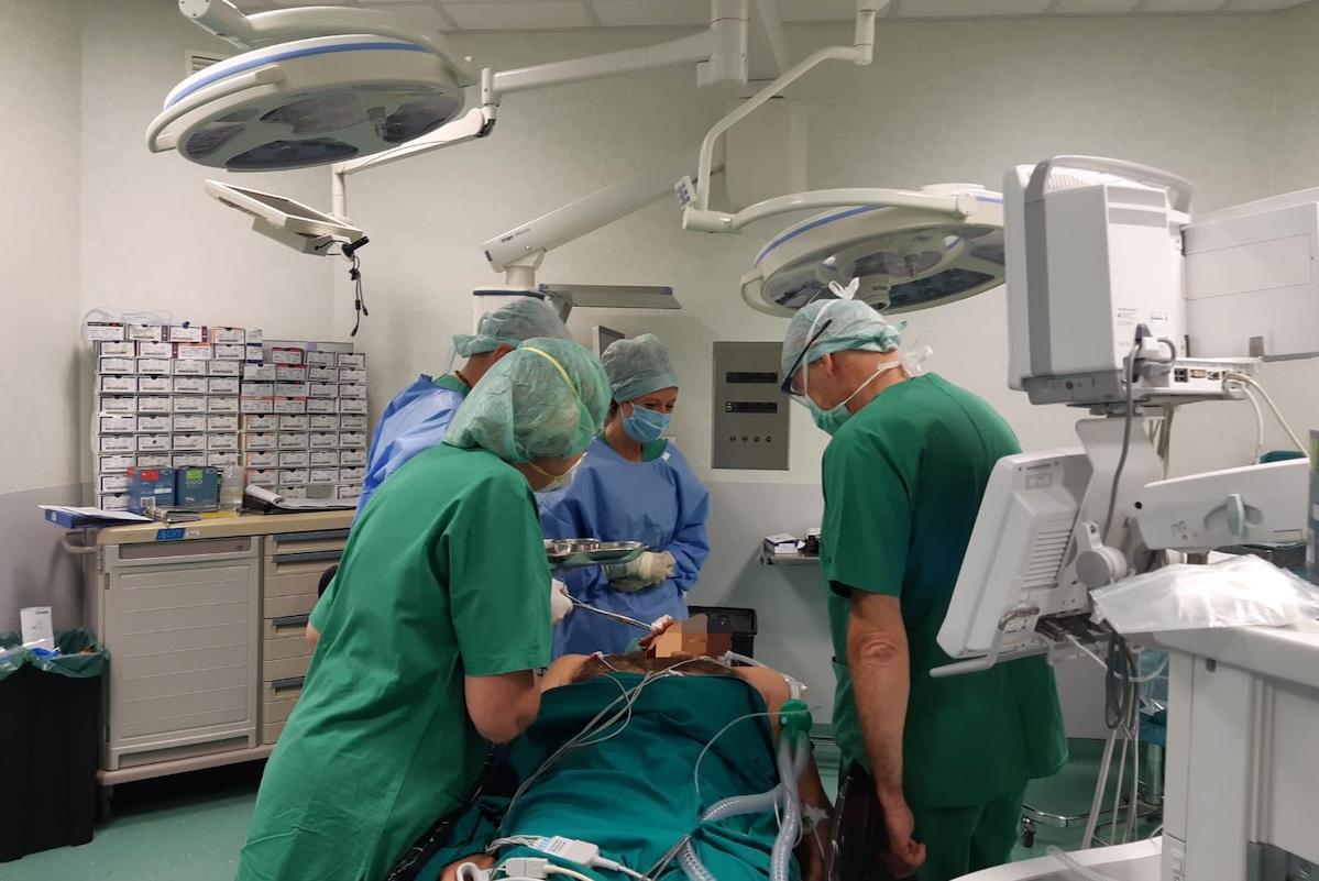 Equipe chirurgia maxillofacciale
