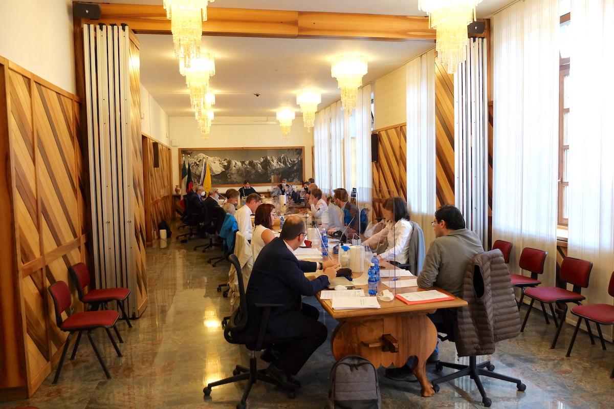 Il Consiglio comunale di Courmayeur