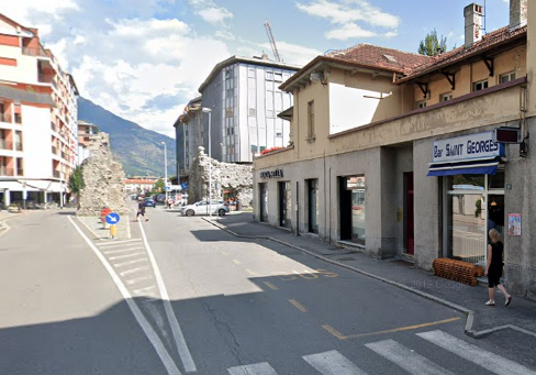 Il Bar Saint Georges ad Aosta