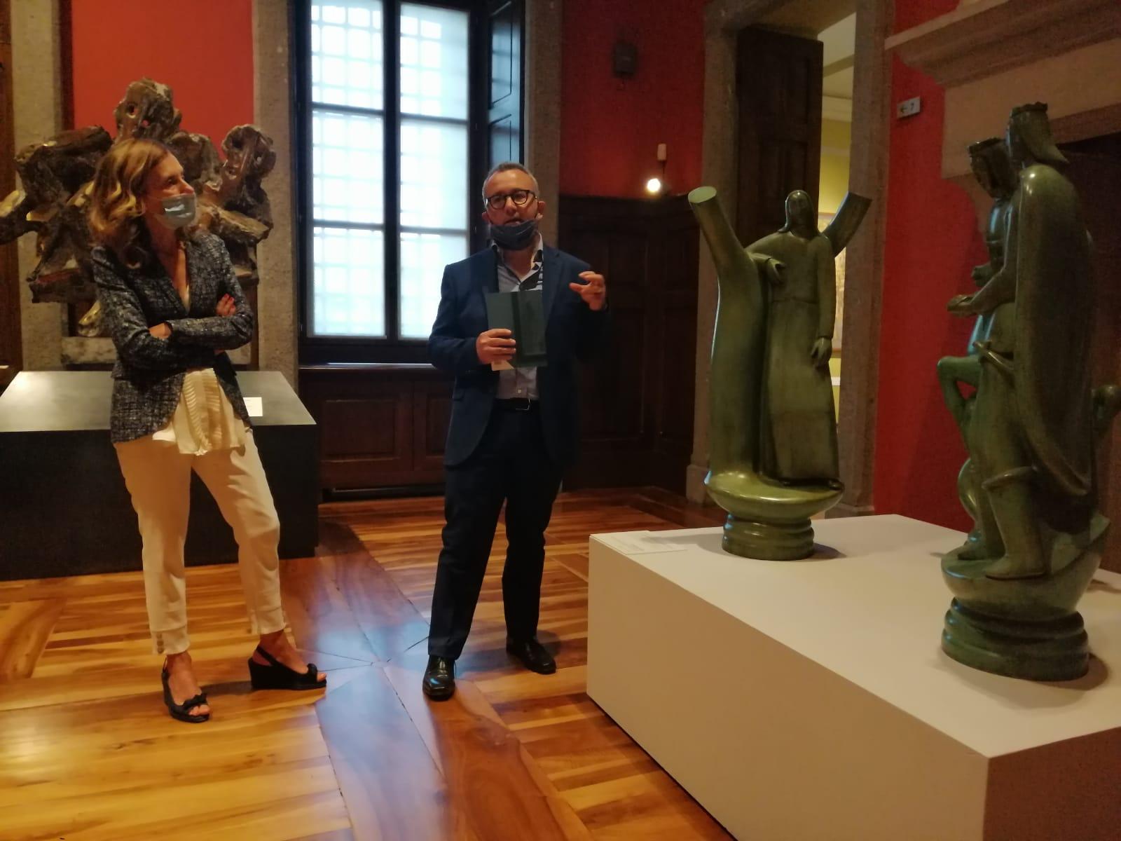 Domenico Maria Papa e Viviana Vallet