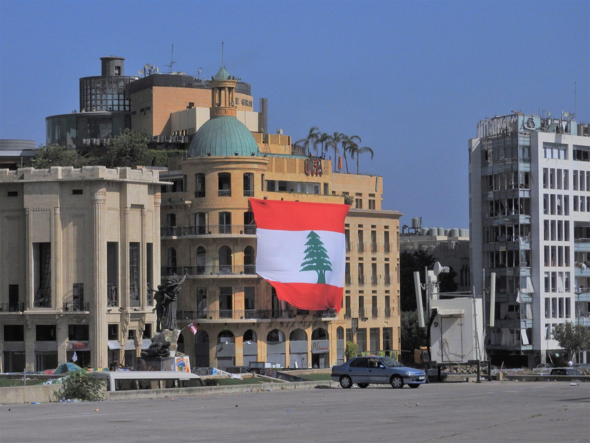Beirut dopo l'esplosione