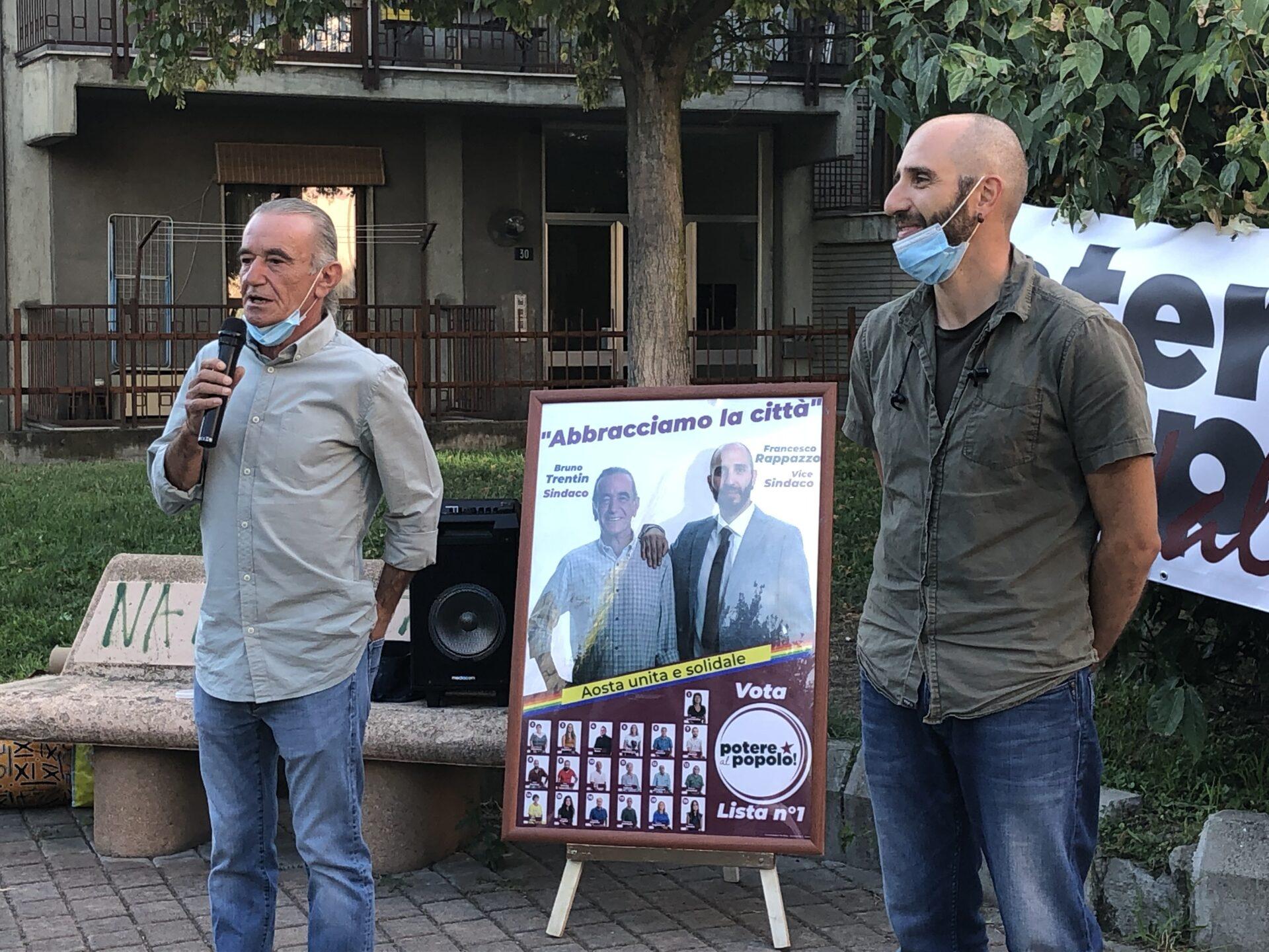 Bruno Trentin e Francesco Rappazzo