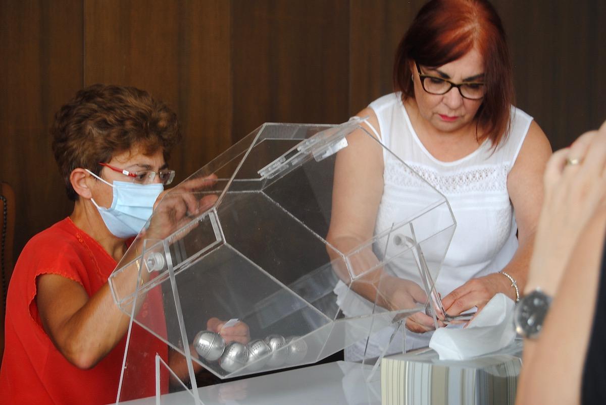 Il sorteggio delle liste elettorali per le Regionali 2020