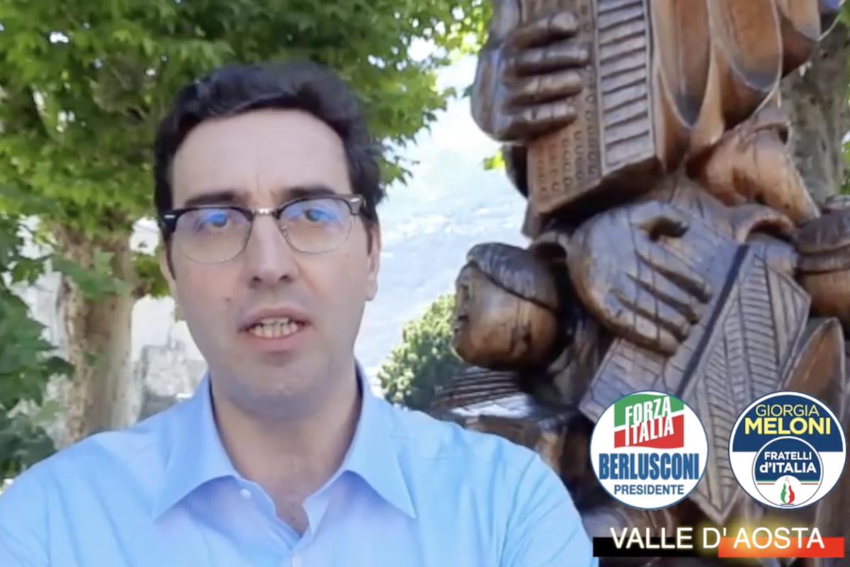 Paolo Laurencet, candidato Sindaco di Aosta per Fratelli d'Italia e Forza Italia