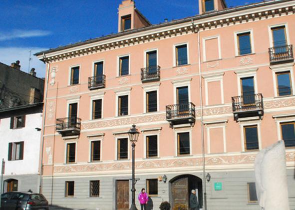 La sede del poliambulatorio di Châtillon