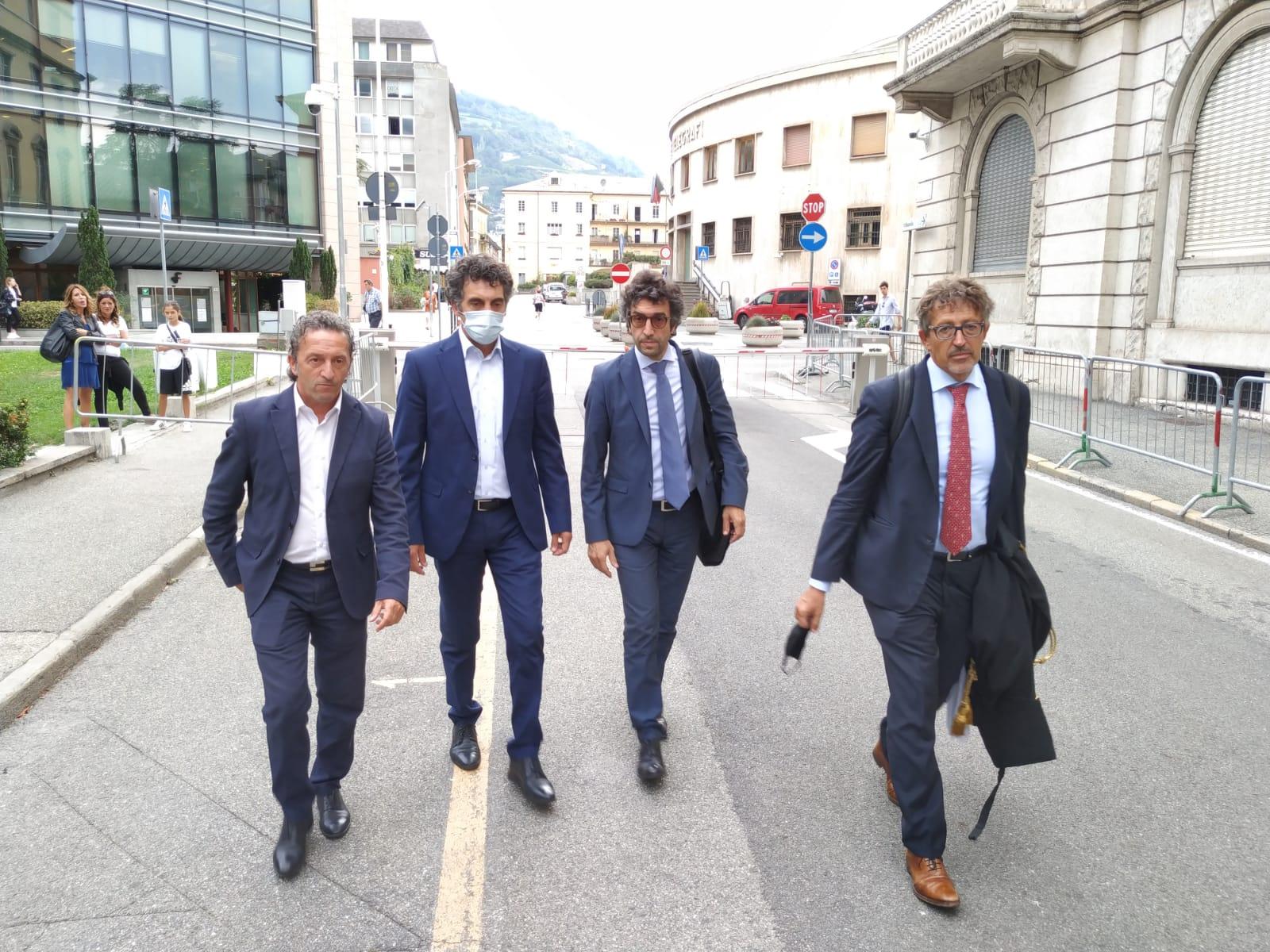 Geenna: l'arrivo di Marco Sorbara con i suoi legali