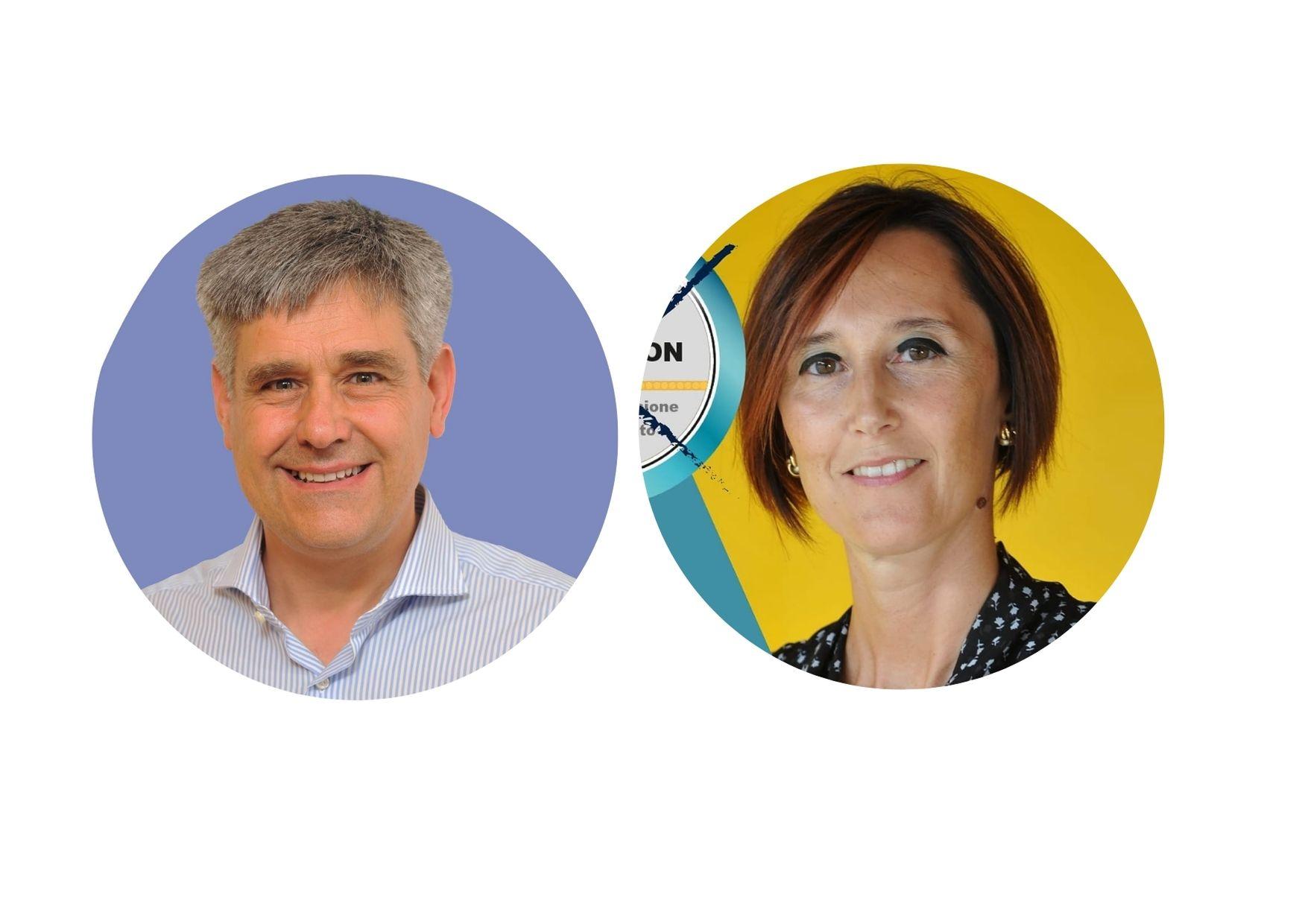 Camillo Dujany e Monique Personnettaz - Candidati Sindaci a Châtillon