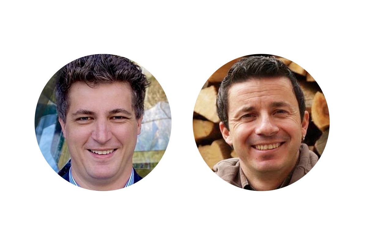 I candidati Sindaco a La Thuile Mathieu Ferraris e Christian Mafredi