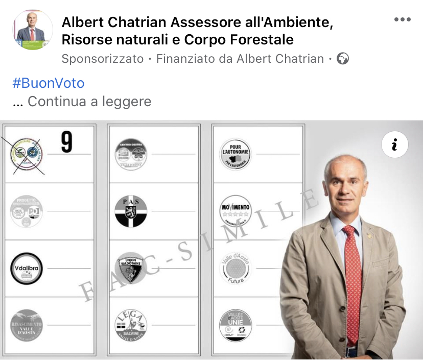 Un post sponsorizzato di Albert Chatrian