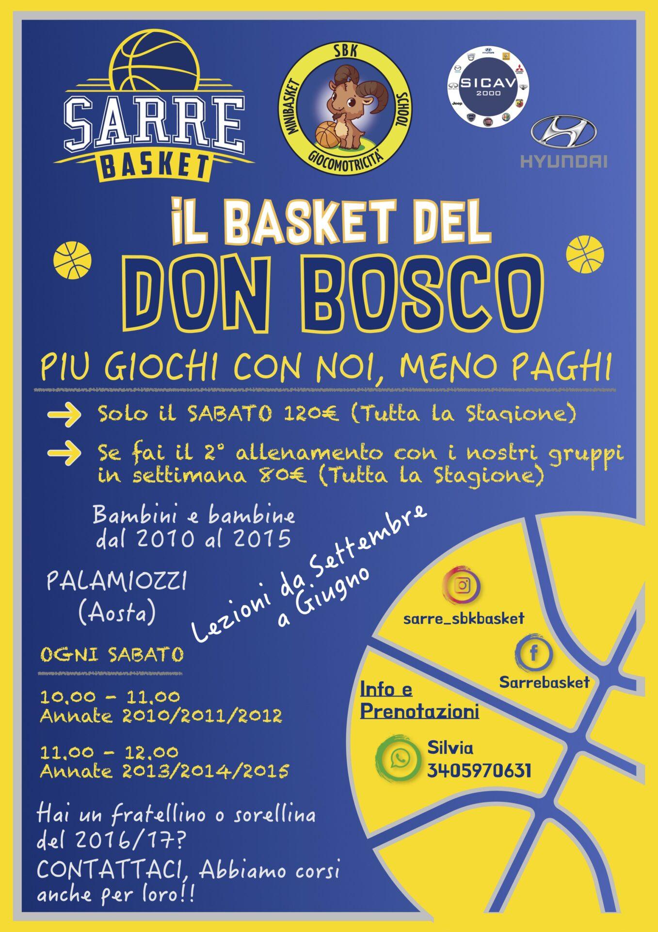 Il Basket del DONBOSCO
