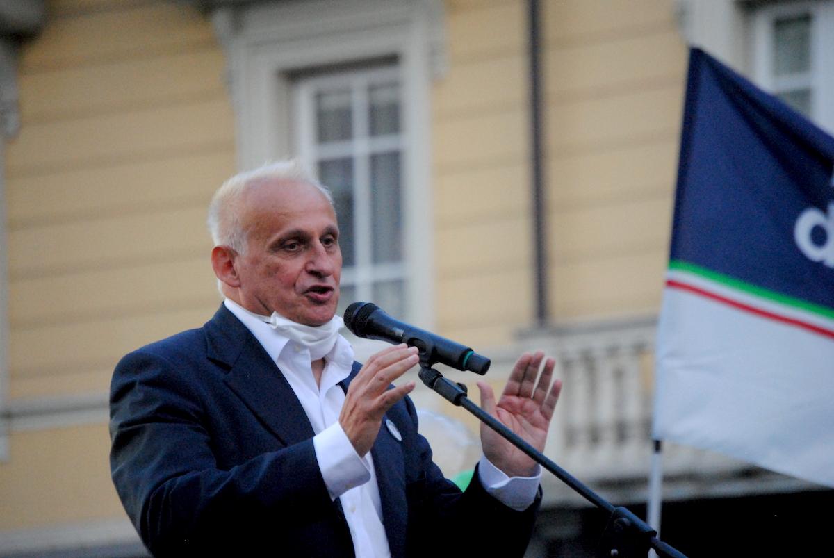 Il coordinatore di Fratelli d'Italia Alberto Zucchi