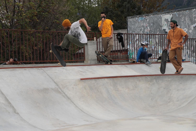 Inaugurazione skate park Aosta
