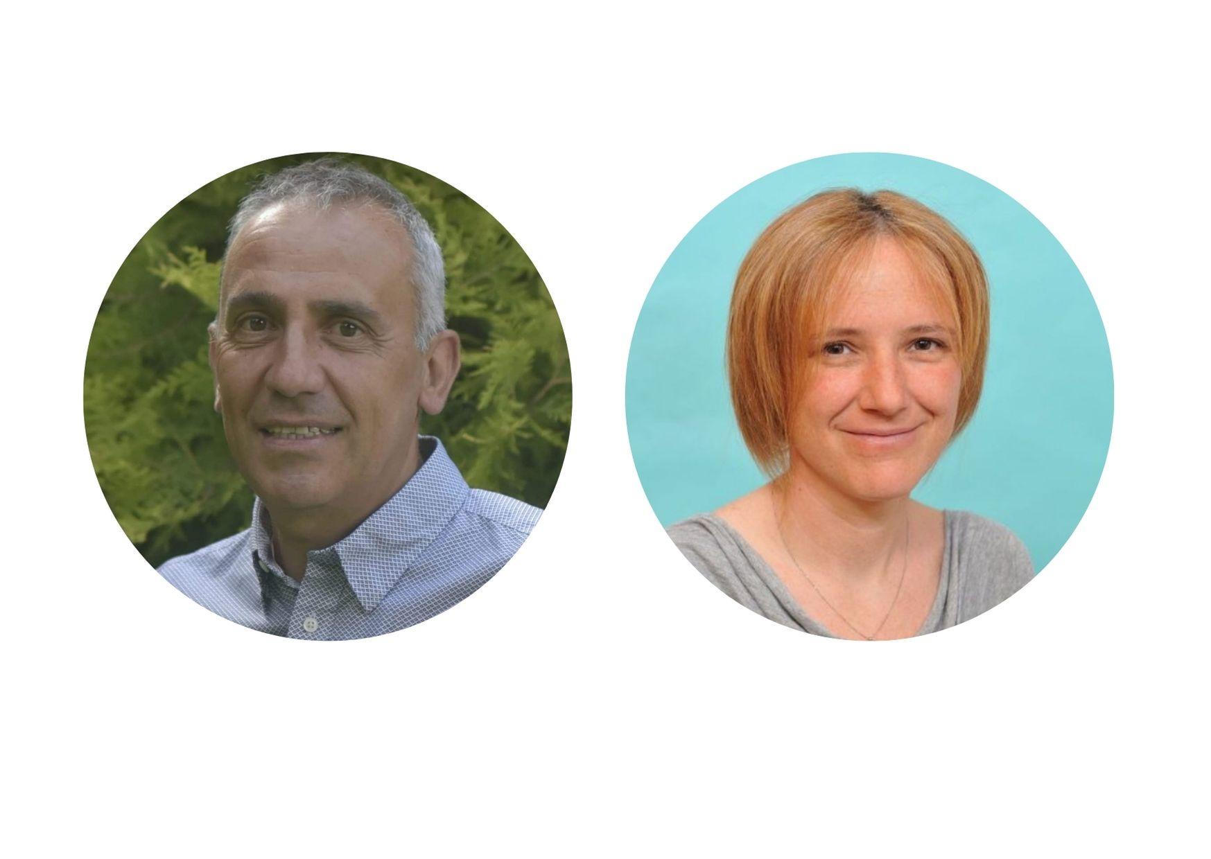 Leo Martinet e Ilaria Lavoyer - Candidati Sindaci Pontey