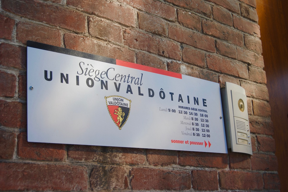Siège Central Uv Union Valdôtaine