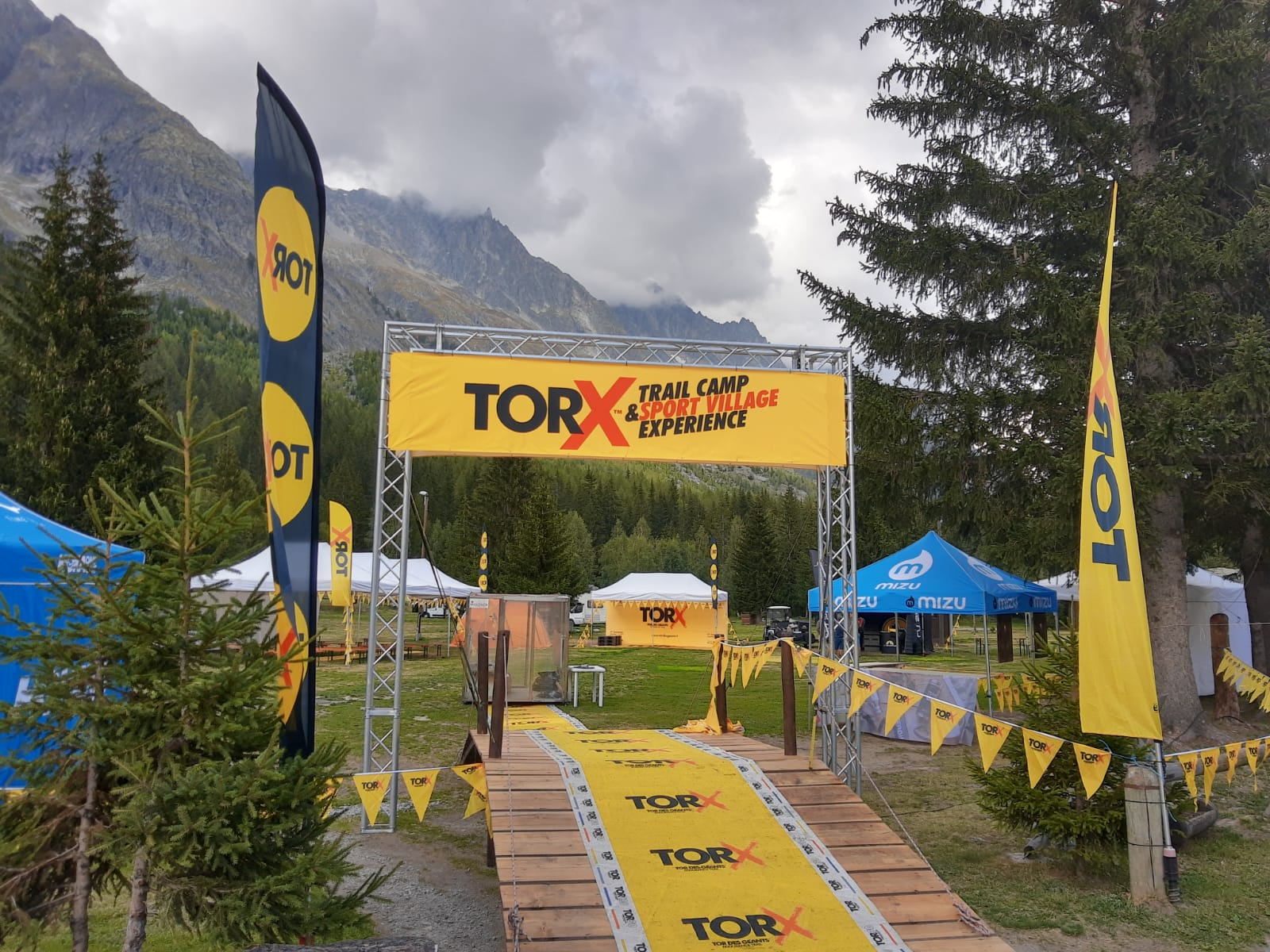 Tor X trail camp