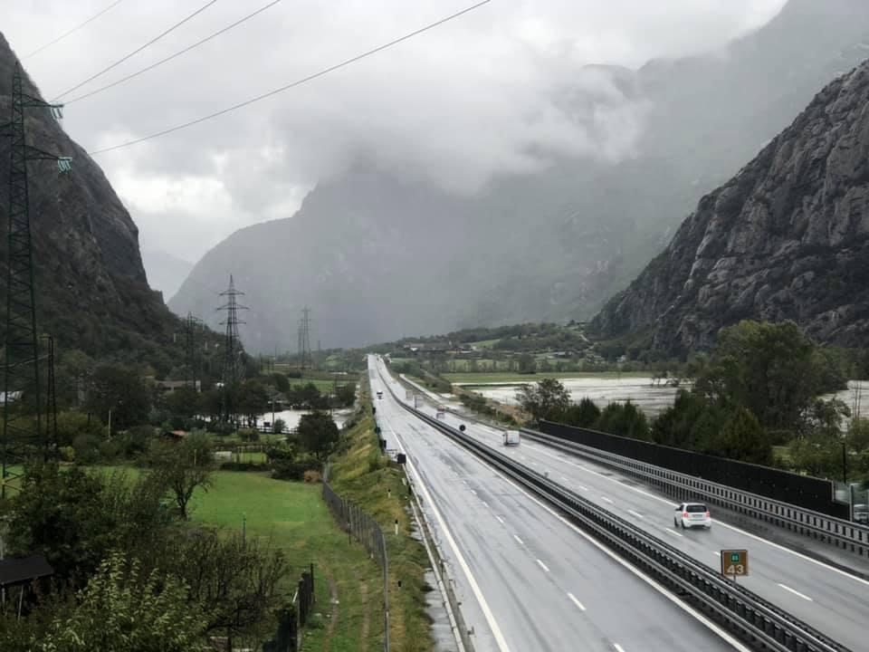 Autostrada Hone con esondazione