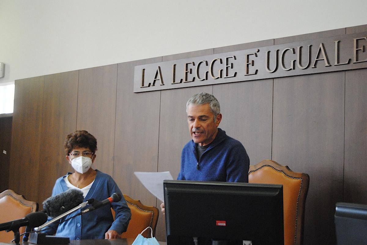 Il Presidente del Tribunale Eugenio Gramola durante la proclamazione degli eletti in Consiglio regionale