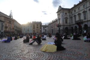 La protesta silenziosa delle scuole di danza e le palestre ad Aosta