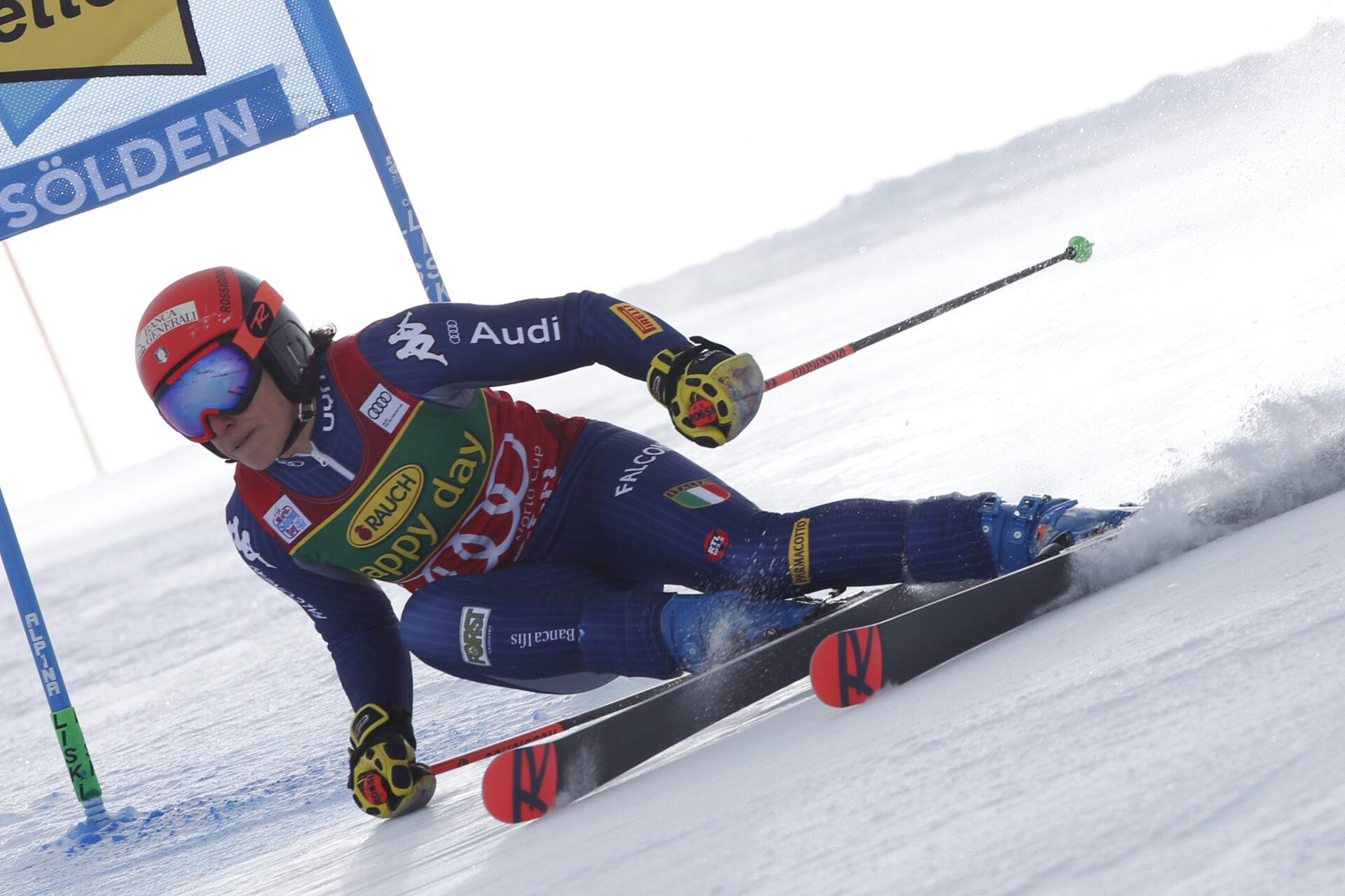 Alpine Ski WorldCup2020/2021. Federica Brignone (ITA) Soelden (AUT) 17/10/2020 Photo: Marco Trovati/Pentaphoto