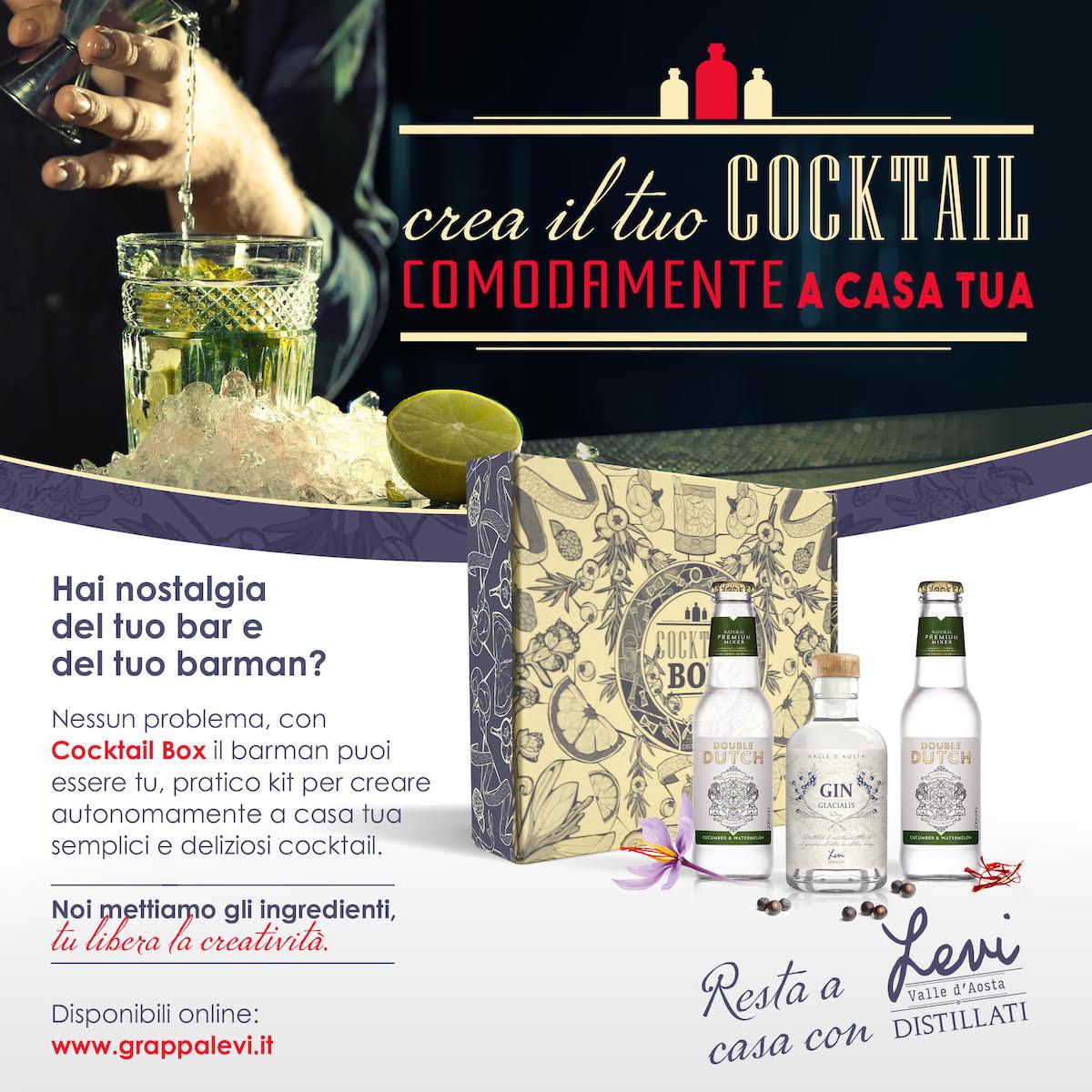 Distillati Levi - Cocktail Box - Locandina