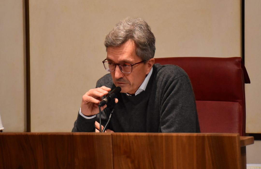 L'Assessore regionale alla Sanità Roberto Barmasse