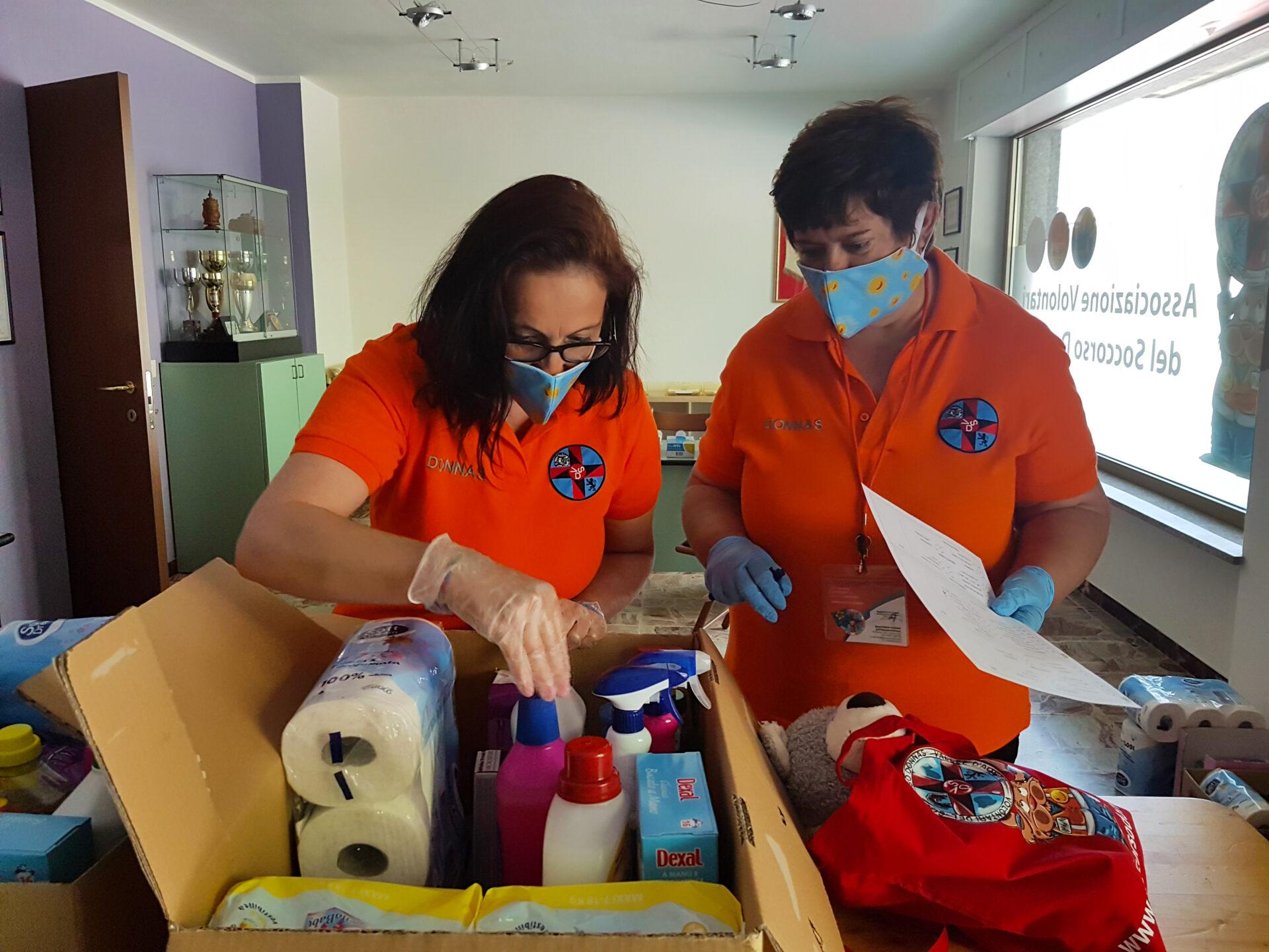 Volontari del soccorso Donnas