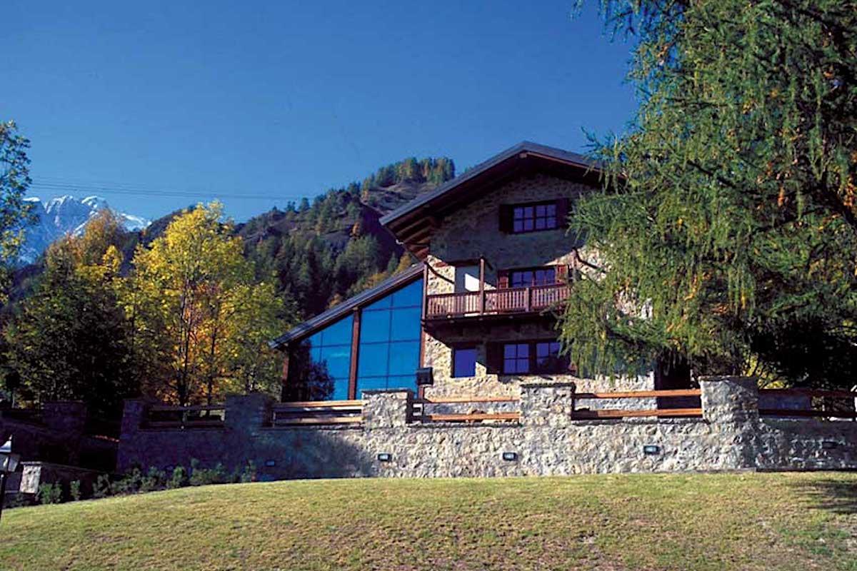 Villa Cameron a Courmayeur sede della Fondazione Montagna Sicura