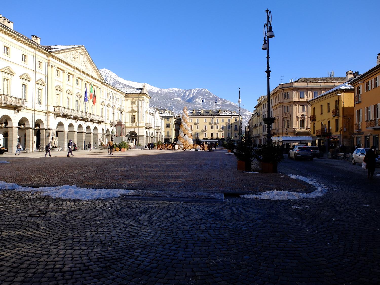 Aosta zona gialla