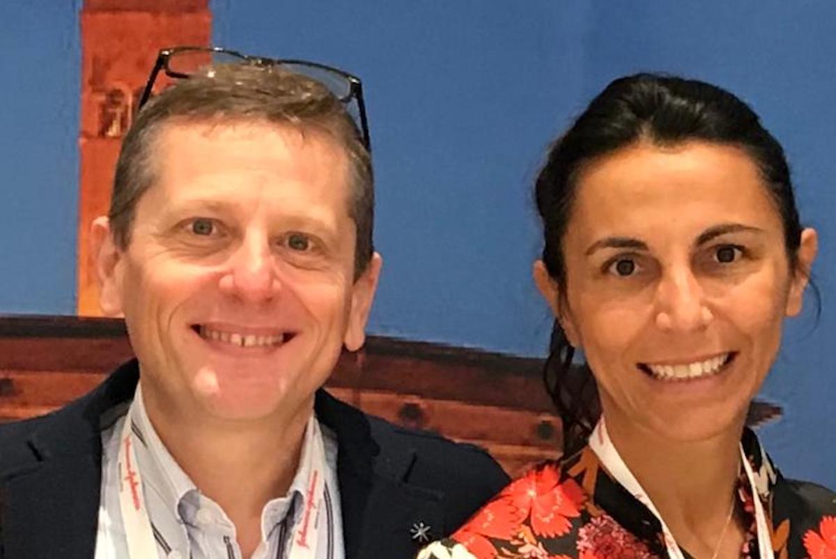 Il dottor Paolo Millo e la dottoressa Antonella Usai