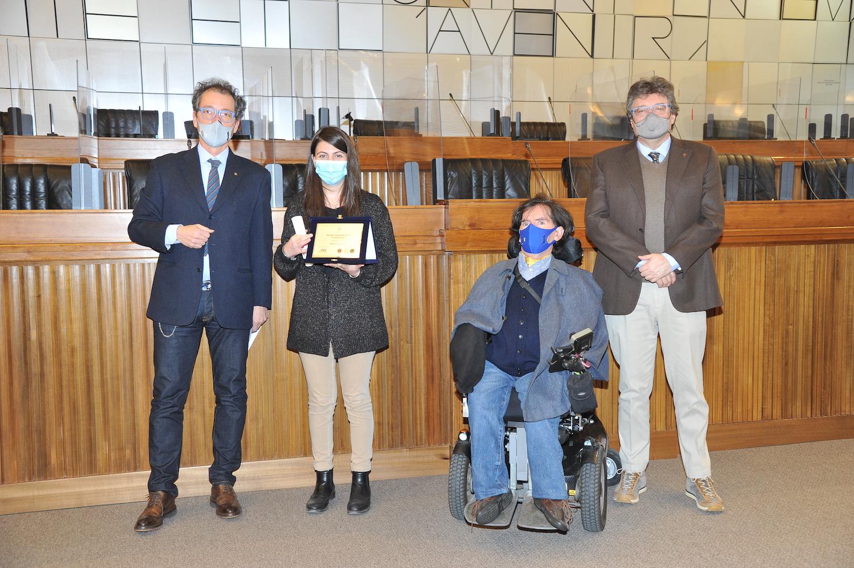 Premiazione Antenne handicap VdA