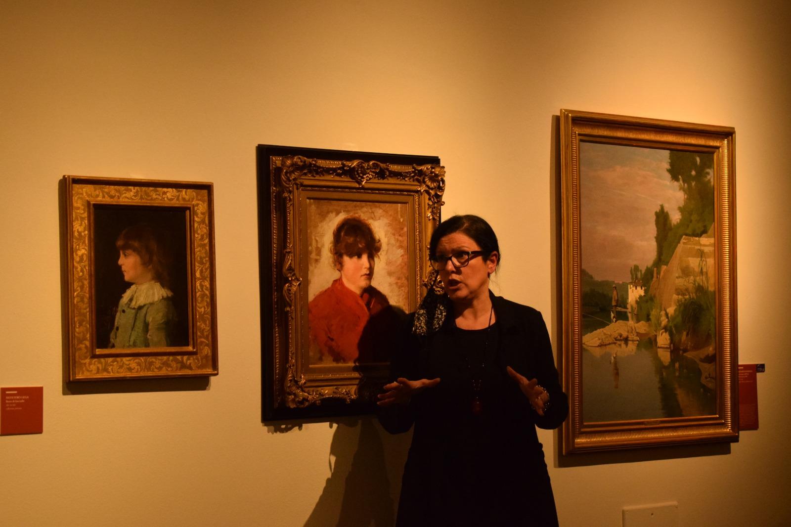 Simona Bartolena - Mostra I Macchiaioli