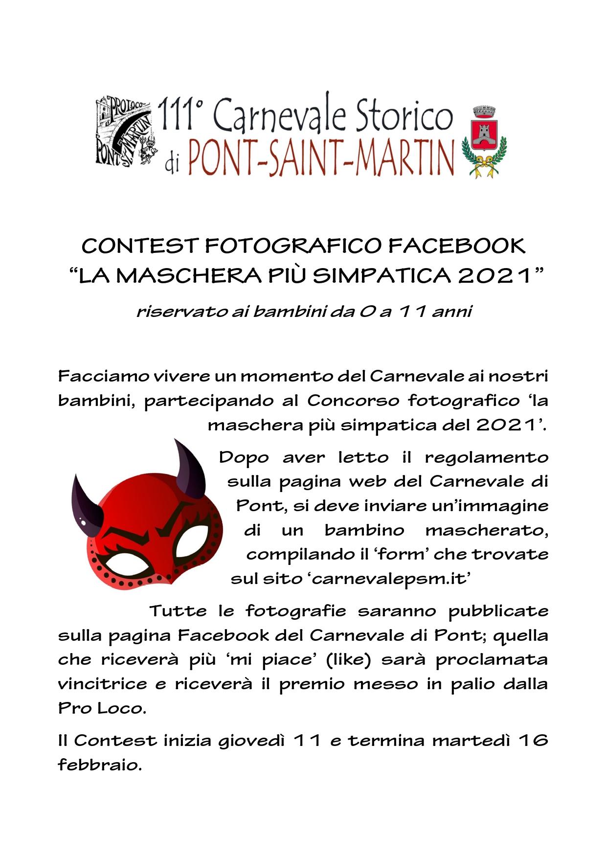 locandina contest A page