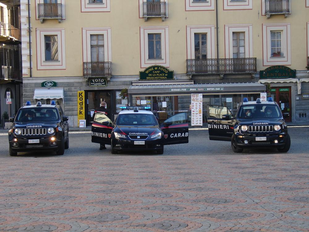 Carabinieri Aosta