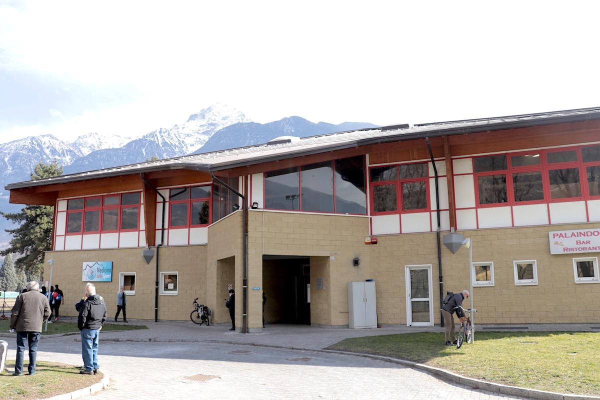 Il Palaindoor Marco Acerbi di Aosta