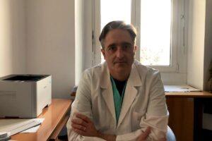 Il dottor Gerardo Di Carlo, Responsabile del Ser.D