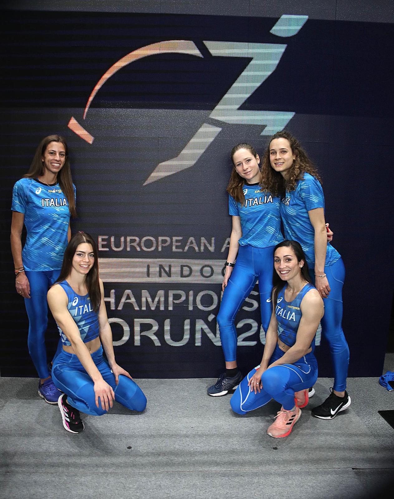 La staffetta azzurra con Eleonora Marchiando