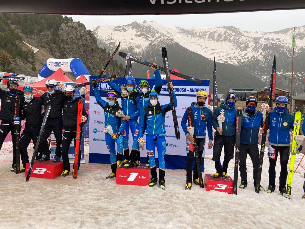 Nadir Maguet vittoria staffetta Andorra