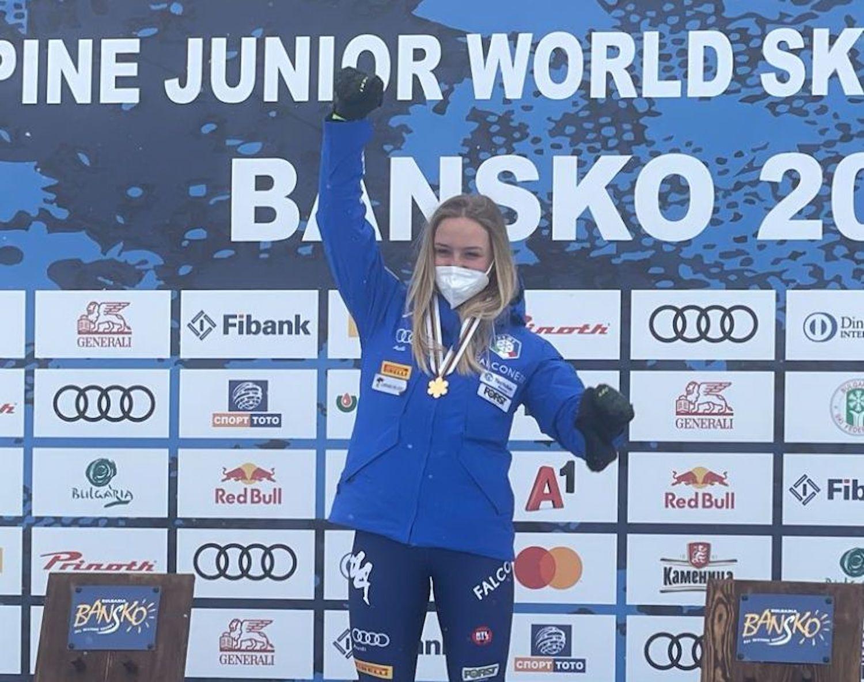 Sophie Mathiou Mondiali Bansko